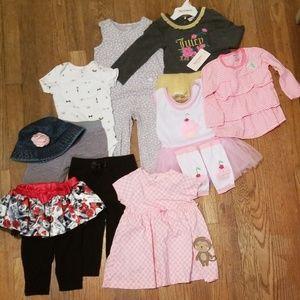 12 month girls but bundle